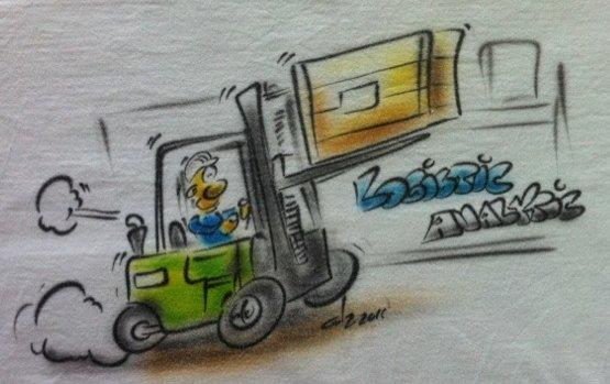Logistic Analytic Staplerfahrer