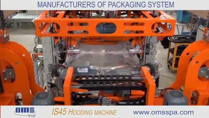 IS45 HOODING MACHINE